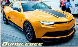 the new bumblebee car hondayes transformers 4 bumblebee camaro sneak peak at sema