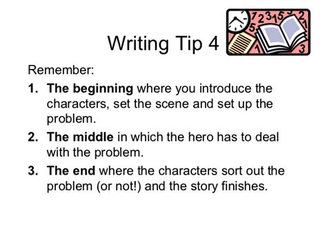 Tips For Writing A Narrative Essay by Power Point Narrative Writing Tips