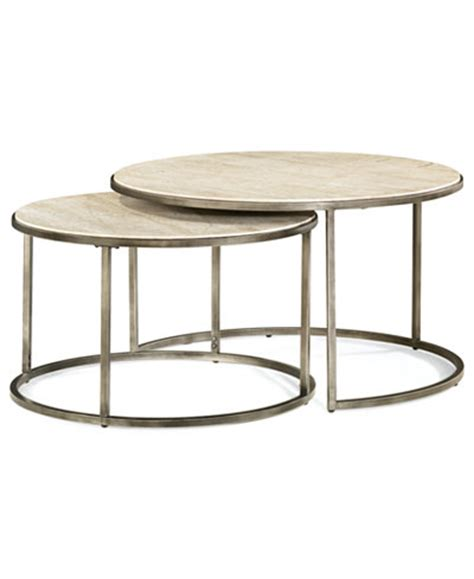 monterey coffee table nesting furniture macy s