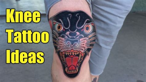 knee cap tattoo awesome knee ideas world