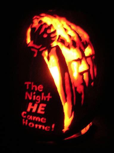 Michael Myers Halloween Pumpkin Stencil - halloween 1978 pumpkin