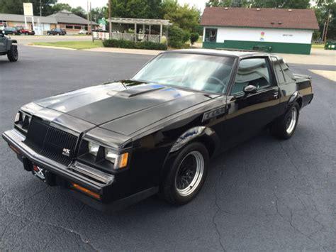 1987 buick gnx grand national original