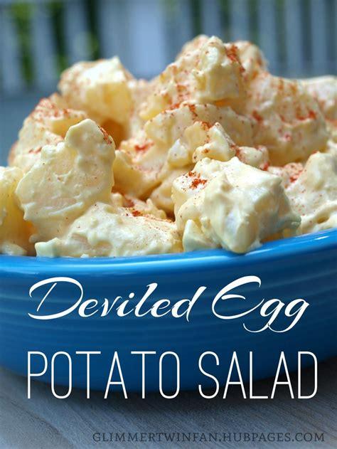 deviled egg potato salad recipe 6 just a pinch recipes