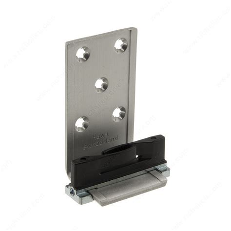 Sliding Closet Door Guides Floor Wall Bracket Lower Guide Comfort 120 45 Richelieu Hardware