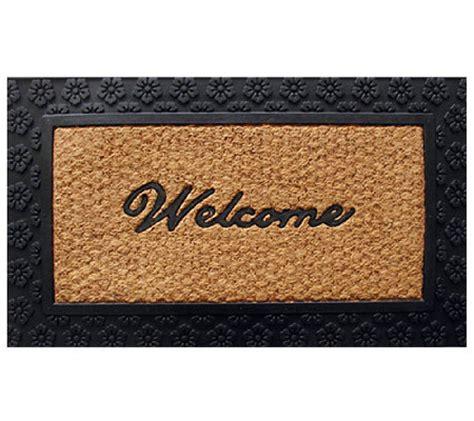 Flat Doormat Geo Crafts Tuffcor Flat Weave Welcome Door Mat Page 1
