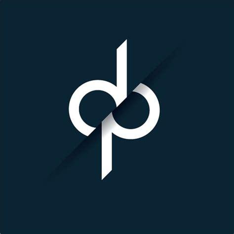 design a logo using initials dp dharmesh panchal pinteres