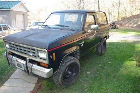 how does cars work 1984 ford bronco ii electronic valve timing sell used 1984 ford bronco ii in boissevain virginia united states for us 1 500 00