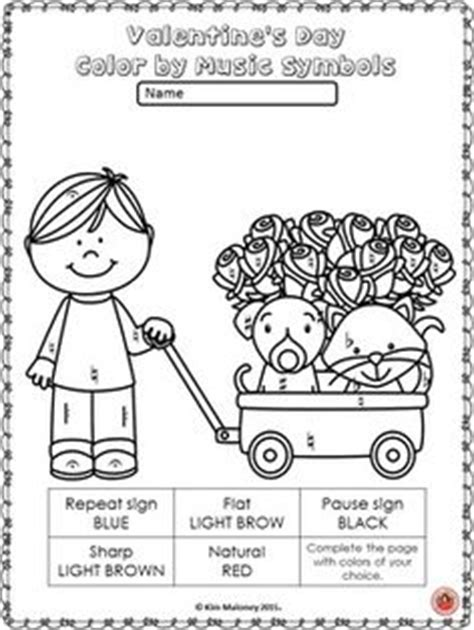 music valentine coloring pages valentine s day color by music symbols valentines music