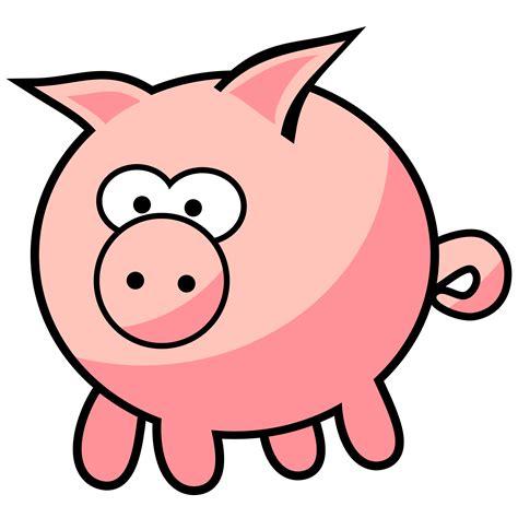 cartoon transparent pig clipart transparent pencil and in color pig clipart