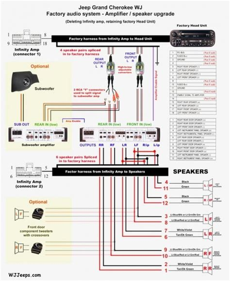 rockford fosgate speaker wiring diagram