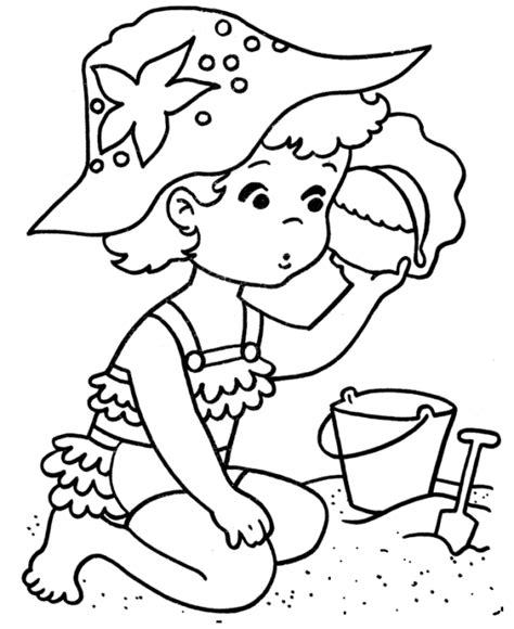 Drawing 4 Summer by Coloring Pages Summer Season Pictures For Drawing