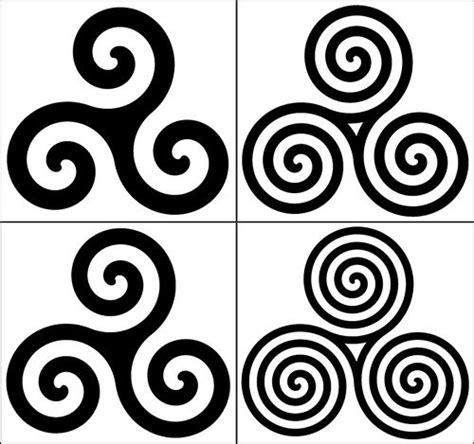 triple spiral tattoo designs 56 best images about celtic spirals on