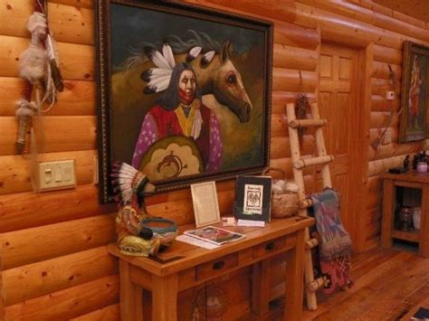 Native American Indian Home Decor Native American Design Gorgeous Cabin Loft Pinterest