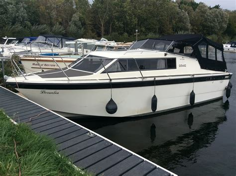 half cabin boats for sale uk duchess 9mtr boat for sale quot brownlea quot at jones boatyard
