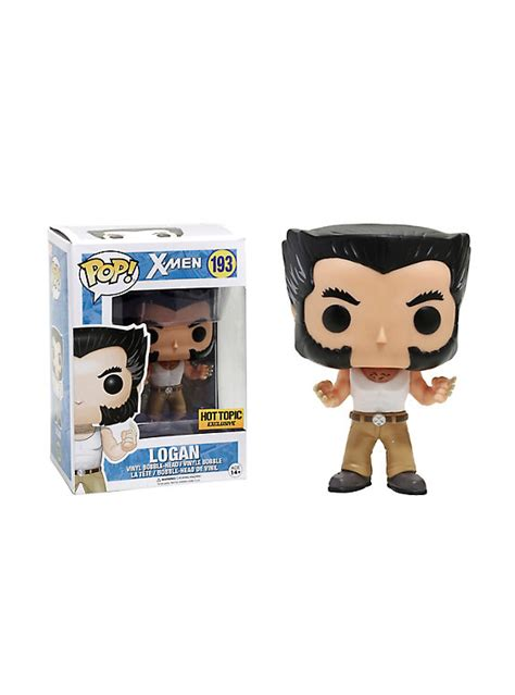 Funko Pop Vinyl Figure Topic Exclusive funko pop marvel logan wolverine vinyl figure topic exclusive topic