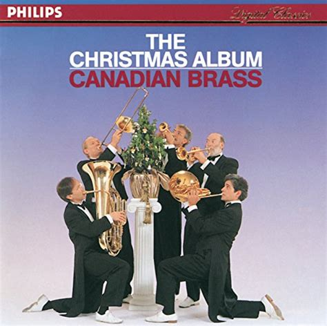 canadian brass christmas album cd covers
