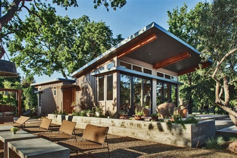 1100 sq ft modern prefab home in napa ca