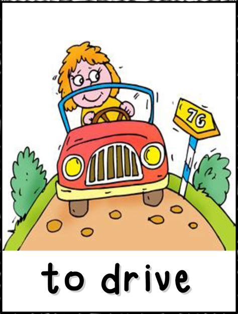 drive verb 3 funny miss val 233 rie verbs