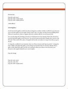 Business Letter Template In Word Format 8 Microsoft Word Business Letter Template Memo Formats