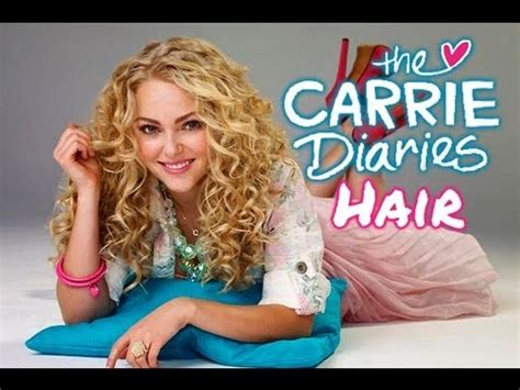 carrie diaries hairstyles the carrie diaries carrie bradshaw s spiral curls youtube