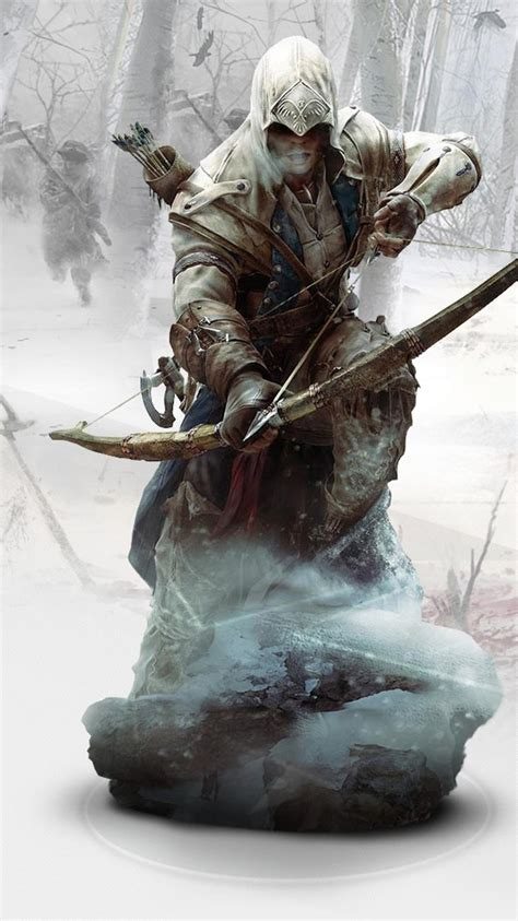 wallpaper iphone 6 assassins creed 750x1334 ratonhnkaketon assassins creed 3 iphone 6 iphone