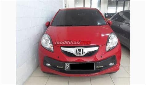 Honda Brio 1 2 At 2014 2014 honda brio 1 2 e at merah