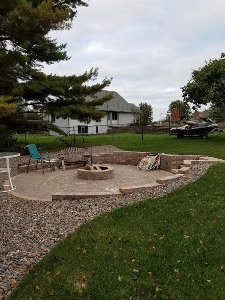 fire features st paul landscaping contractor mn