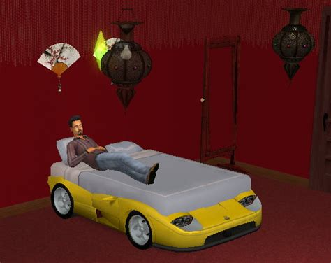 adult car bed mod the sims the double race car bed for adults