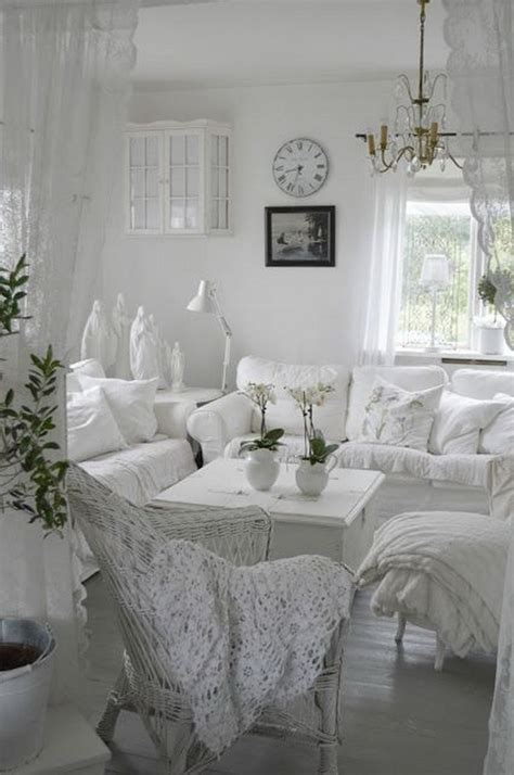 25 charming shabby chic living room decoration ideas