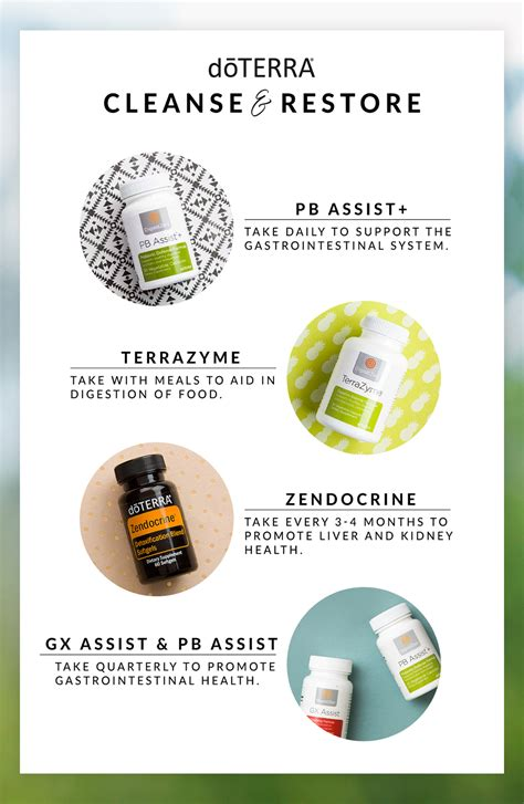 30 Day Detox Cleanse And Restore by Doterra Oils