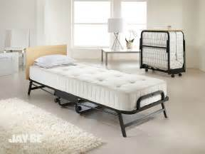 Jaybe Folding Bed Be Crown Premier Single Folding Bed With Optional Storage Cover