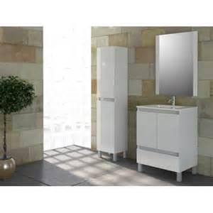 mennza ensemble de salle de bain tibet meuble blanc