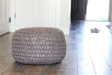 crochet pattern for bean bag crocheted floor cushions free pattern tutorial