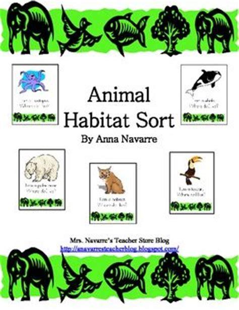 printable animal habitat cards 21 best desert habitat images on pinterest