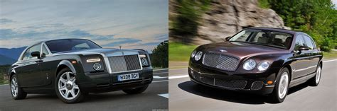 roll royce bentley brand battle bentley vs rolls royce