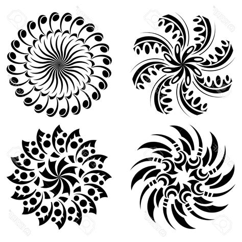 round tribal tattoo designs half sleeve koi designs best design