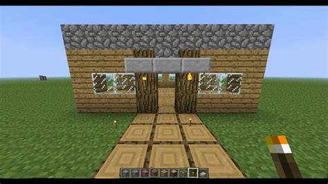 how to make a fast and easy house in minecraft
