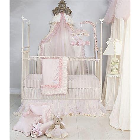 glenna jean bedding glenna jean anastasia crib bedding collection in cream bed bath beyond