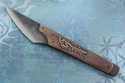 mantis  wasp kiridashi custom knives knife template