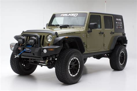 jeep rubicon offroad the green jeep unlimited rubicon w atx wheels and