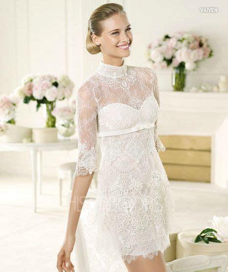 vestidos de novia cortos pronovias vestidos cortos en pronovias 2013
