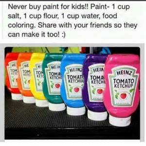 how to make your own paint for kids for hours of fun step by step diy tutorial instructions