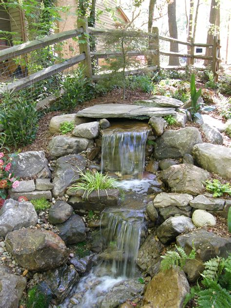 ponds and waterfalls for the backyard products