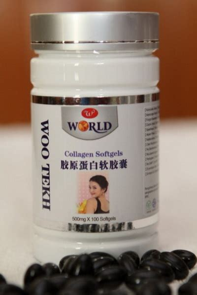 Collagen Softgel Woo Tekh collagen softgel woo tekh richelle shop