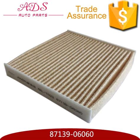 Best Cabin Filter Brand by Air Conditioner High Quality Wholesale Cabin Air Filters For Toyota Cars 87139 06060 Buy Cabin