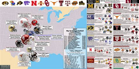 big ten map ncaa fb big 12 171 billsportsmaps