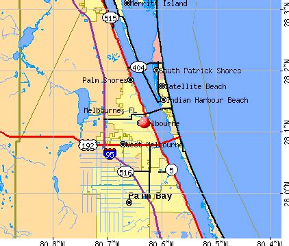 map of florida viera melbourne florida fl profile population maps real