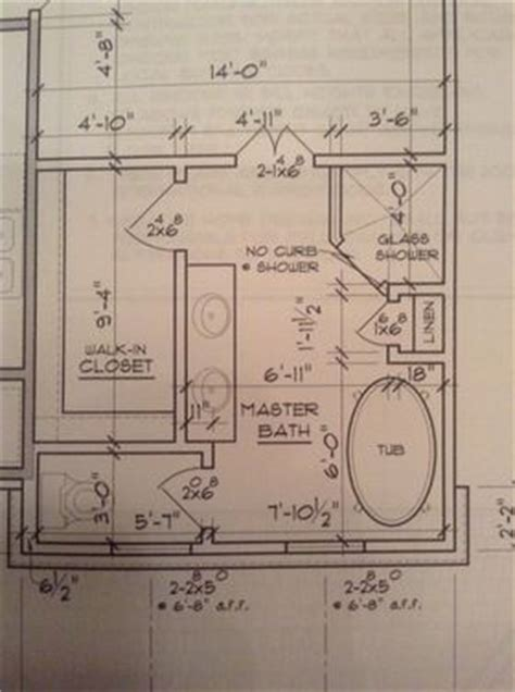 master bath floor plan except i see no need for his her 17 best images about floor plans on pinterest walk in