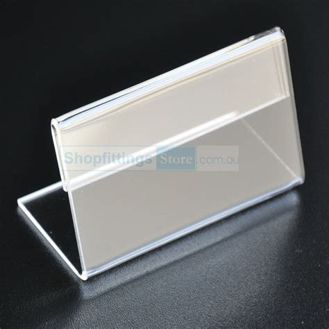Dijamin Clear St Hanging Tags acrylic price tag holder