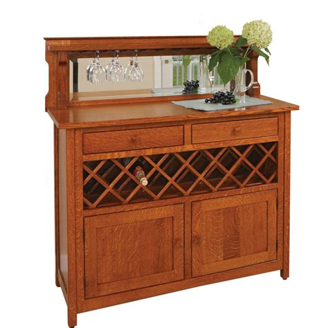 grandma s buffet wine cabinet amish crafted furniture